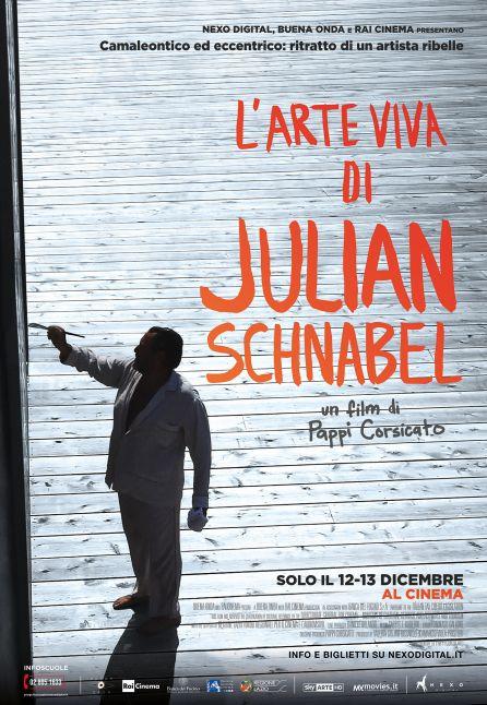 JULIAN SCHNABEL: A PRIVATE PORTRAIT - LA GRANDE ARTE AL CINEMA 2017/2018